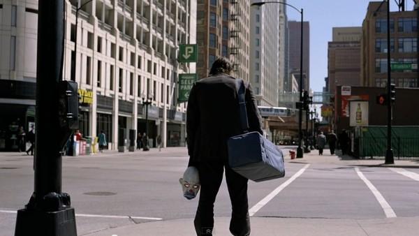 The Dark Knight Opening Scene Joker Heath Ledger