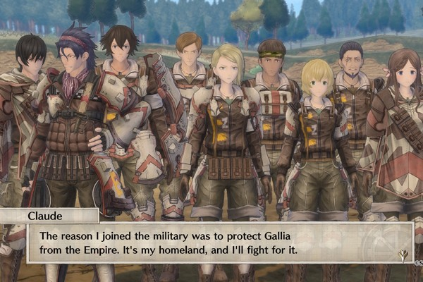 Valkyria Chronicles 4 Squad