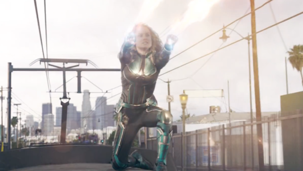 Captain Marvel Energy Blasts