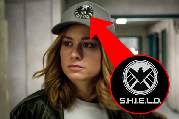 Captain Marvel Shield