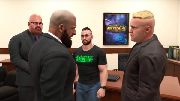 WWE 2K19 MyCareer