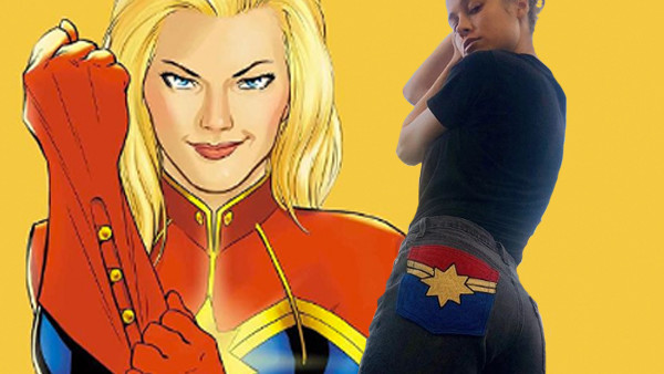 Brie Larson Captain America