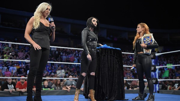 Charlotte Flair Paige Becky Lynch