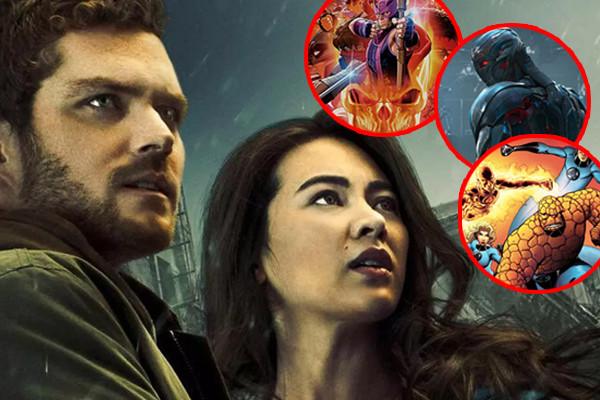 Iron Fist Season 2 Fantastic Four Ultron Marvel Vs Capcom