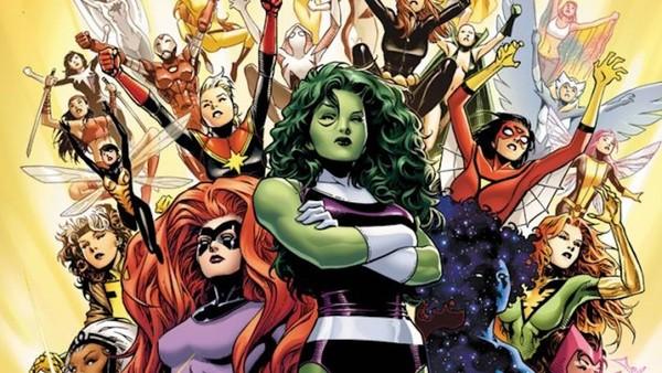 Wonder Woman Writer Is Making A Marvel Female Superheroes TV