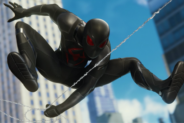 Spiderman Black Cat Costume Meningrey