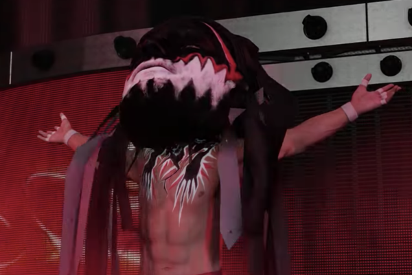 Finn Balor Big Head WWE 2K19