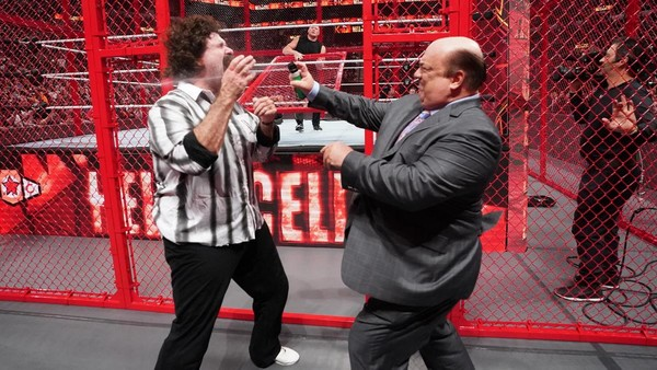 Hell In A Cell Mick Foley Paul Heyman