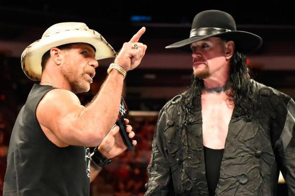 Shawn Michaels The Undertaker