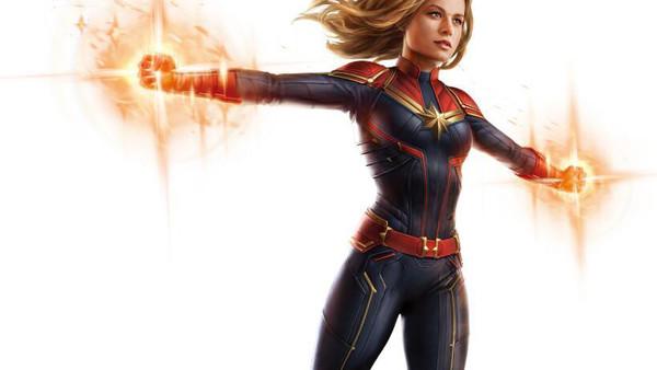 Captain Marvel Avengers 4 Art