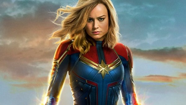 Captain Marvel Poster Close Up