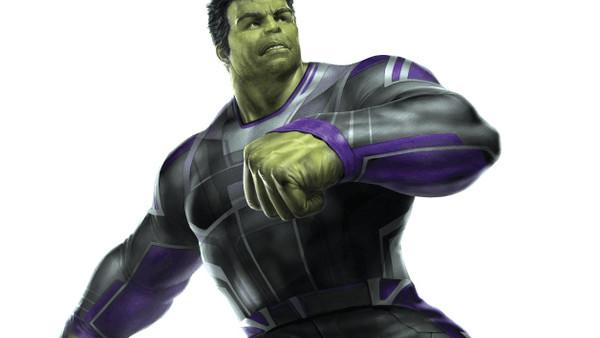 Avengers 4 Hulk Art