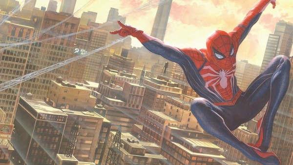 Spider-Man PS4 Alex Ross