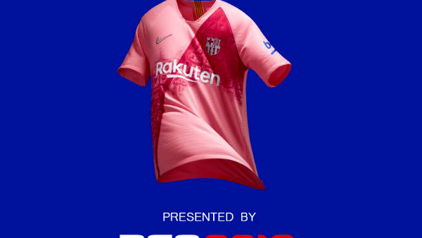 9966d781929 Barcelona Reveal Third Kit Through PES 2019