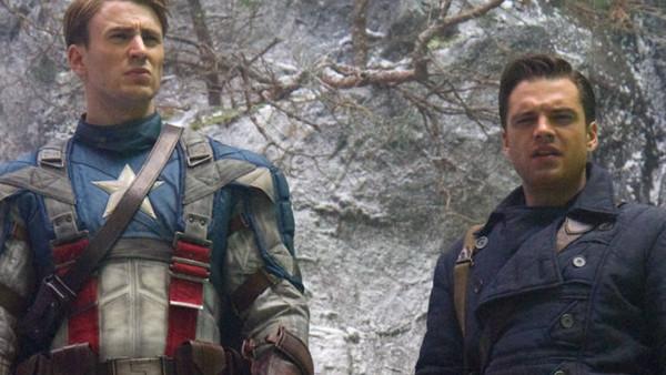 Captain America First Avenger Bucky