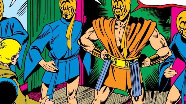 Golden Tigers Iron Fist