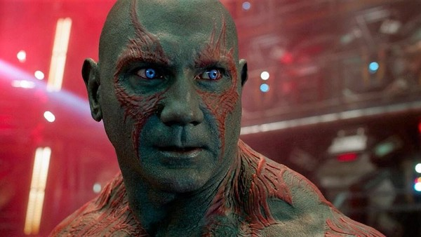 Drax The Destroyer Dave Bautista