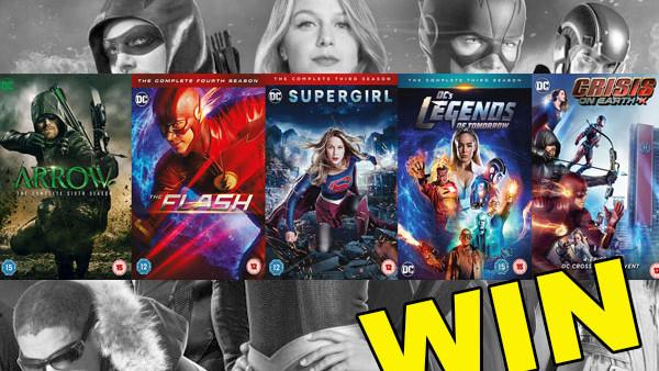 Win: DC TV's Arrowverse 5 DVD & Blu-Ray™ Bundle