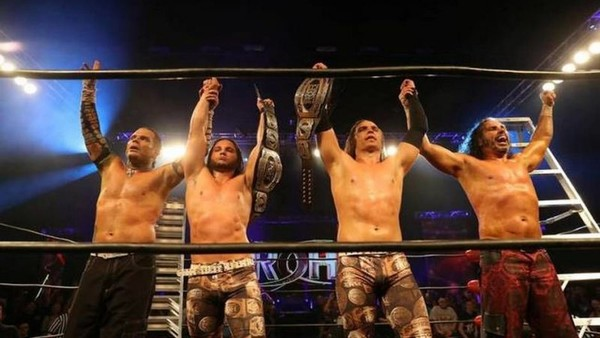 Hardy Boyz Young Bucks