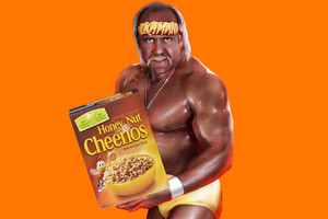 Hulk Hogan Honey Nut Cheerios