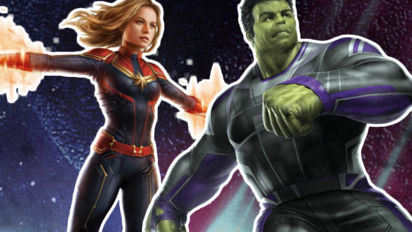 Avengers 4 Captain Marvel Hulk
