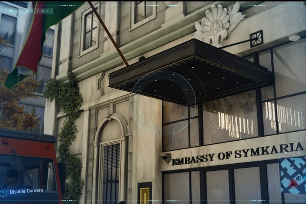 Spider-Man PS4 Symkarian Embassy