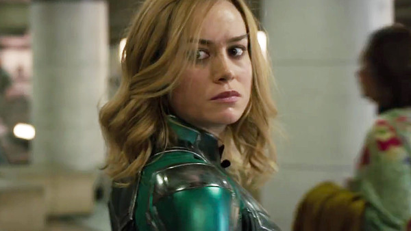 Brie Larson Captain Marvel Trailer