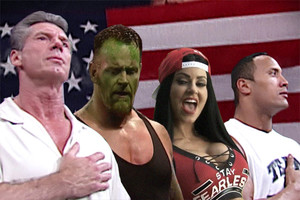 Vince McMahon The Undertaker Maryse The Rock