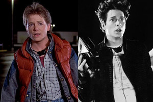 Back To The Future Michael J Fox Eric Stoltz