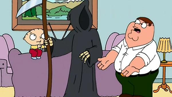 Family Guy Death