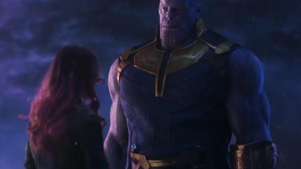 Avengers Infinity War Thanos Gamora