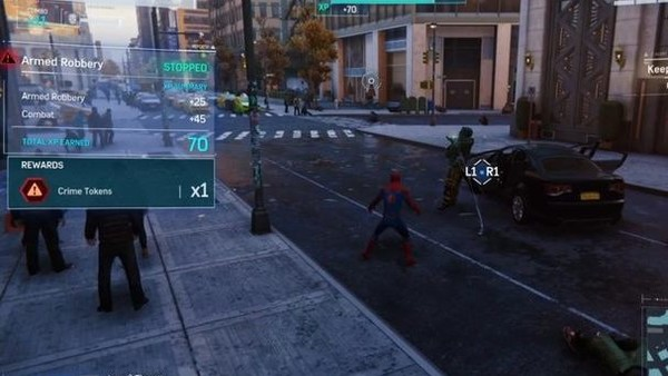 spider man ps4 crimes