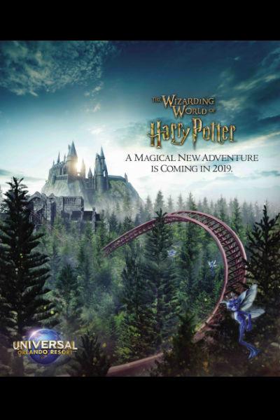 Harry Potter Coaster Universal Orlando
