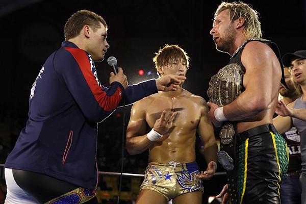 Risultati immagini per Kenny Omega vs Kota Ibushi vs Cody
