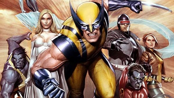 Wolverine X-Men Cyclops Emma Frost
