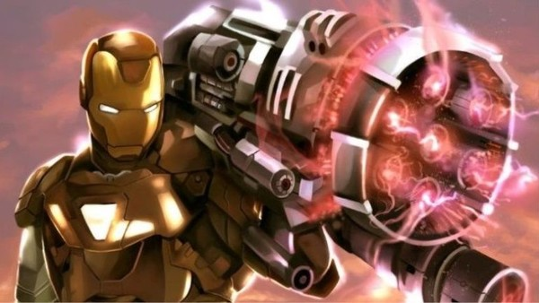 Avengers 4 Shows Iron Man Proton Cannon