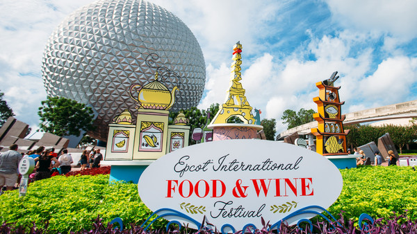 Epcot Food and Wine Disney World