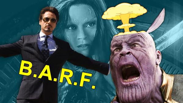 Avengers 4 BARF Tony Stark