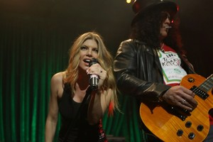 Slash & Fergie