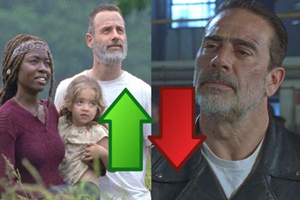 The Walking Dead Season 9 Ep 1 Ups Downs