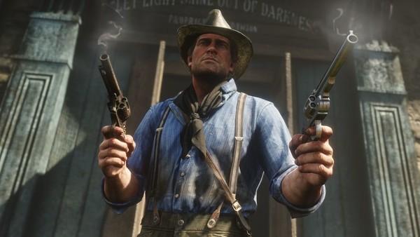 Red Dead Redemption 2 Arthur Dual Wield