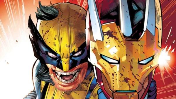 Wolverine Iron Man Head