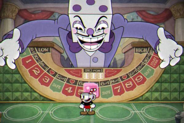 Cuphead Boss Fight king dice