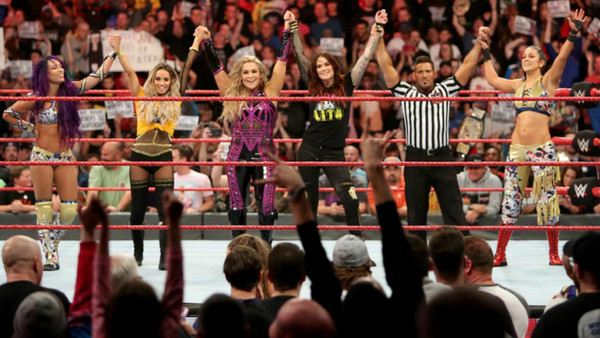 Sasha Banks Trish Stratus Natalya Lita Bayley