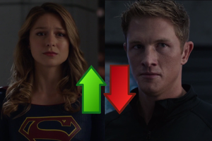Supergirl S4 E2 Ups Downs