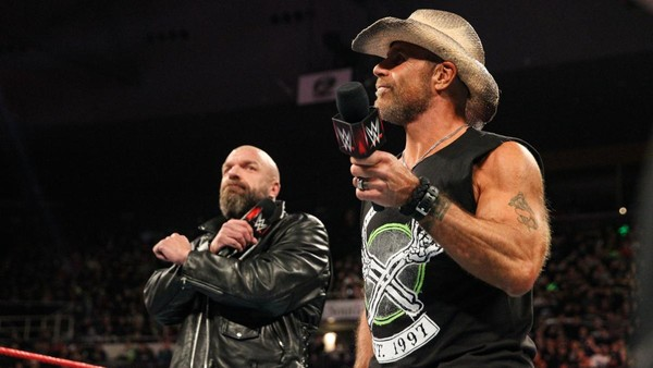 Shawn Michaels Triple H