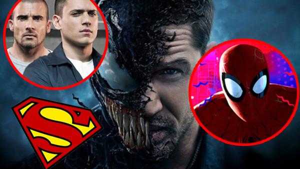 Venom Prison Break Superman Spider Man