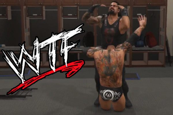 WWE 2K19 Batista Roman Reigns WTF