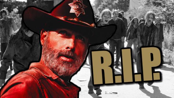 Rick Grimes RIP