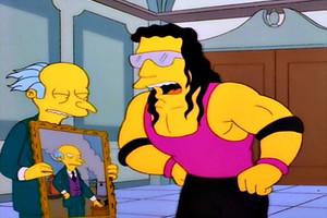 Bret Hart The Simpsons